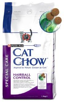 PURINA CAT CHOW SPECIAL CARE HAIRBALL CONTROL 1,5 kg