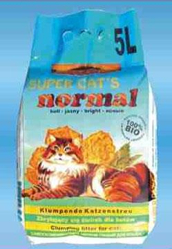 Żwirek dla kota Super Cat's Normal 5 l